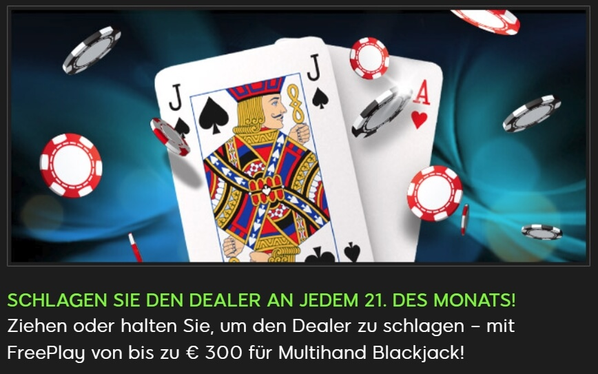 888casino Blackjack Bonus